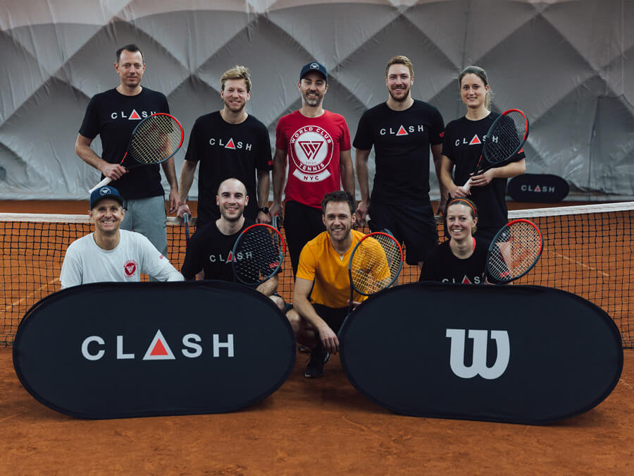 Wilson Clash Tennisschläger Tennis Racket Test Event 2019 Perfekte Balance On Tour