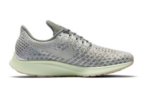 Nike Air Zoom Pegasus 35 Damen Laufschuh (grey green) 77,90