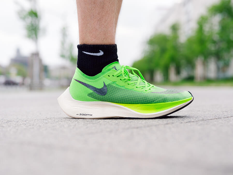 Nike ZoomX Vaporfly Next% Laufschuh Test