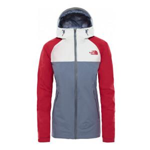 The North Face - Stratos Damen Funktionsjacke (grau rot weiß)