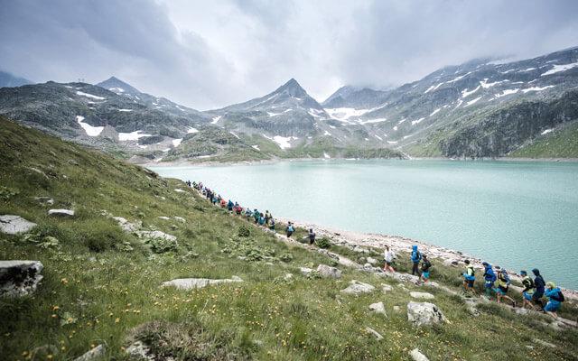 Grossglockner Ultra Trail in Österreich Strecke Kals Kaprun Weissee Tauern im Juli 2019