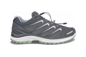 LOWA Maddox GTX Low Damen Hikingschuh (grau grün) 135,90 €