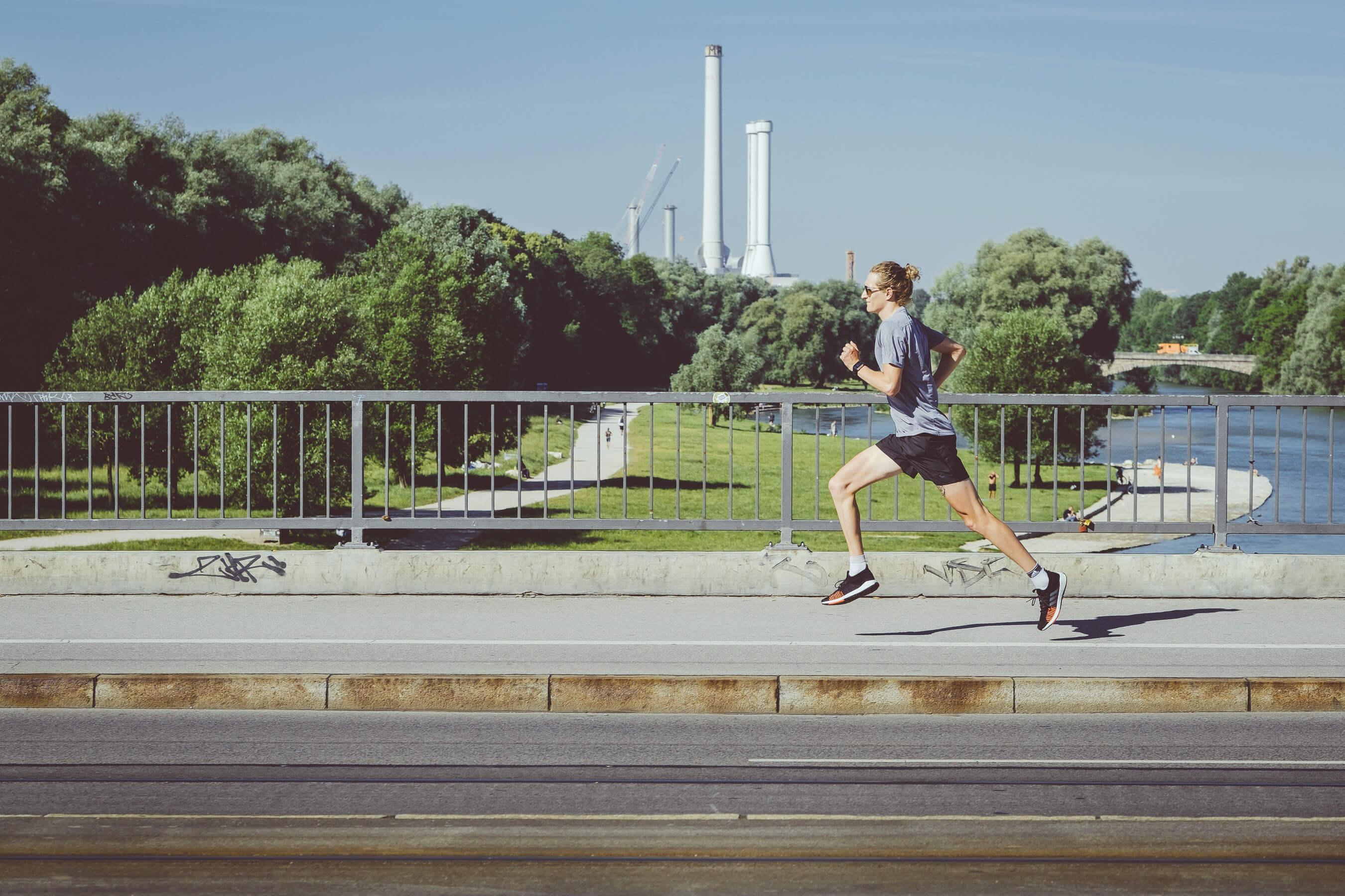 Laufen in München die Runde die gut in der Freizeit oder als daily run Training taugt