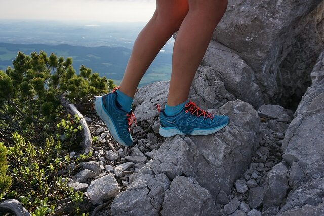 Die Salewa Dropline Gore-Tex Speed Hiking Schuhe im Test 2020