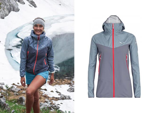 Keller Sports Pro Lisa Speed Hiking Outfit von Salewa zum Trekking Klettern und Bergsteigen