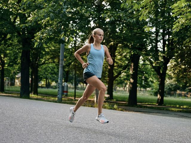 Laufen in Wien - Prater Hauptalle eine der schönsten Strecken zum Joggen und Sport machen