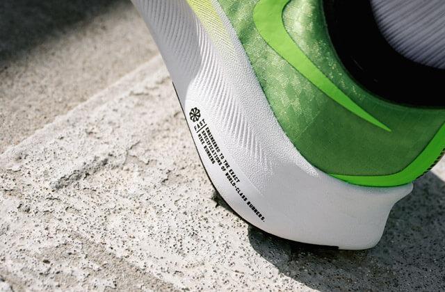 Nike Zoom Fly 3 Running Schuhe im Test 2019 Swoosh Logo und Just Do it Aufschrift