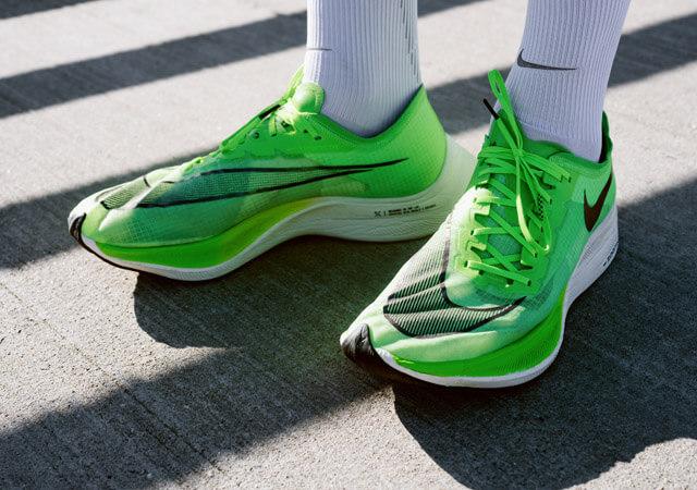 Nike Zoom X Vaporfly NEXT%  Test 2019 new world elite running shoe mit Vaporweave statt Flyknit wie beim Vorgänger 2018