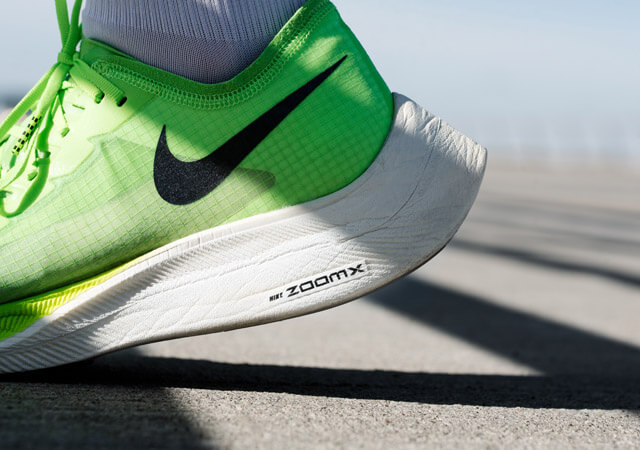 Nike Zoom X Vaporfly NEXT%  Test 2019 new world elite running shoe mit Zoom X Foam