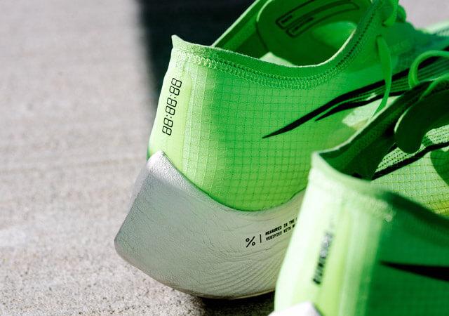 Nike Zoom X Vaporfly NEXT%  Test new world elite running shoe design und getestet von Mo Farah und Eliud Kipchoge