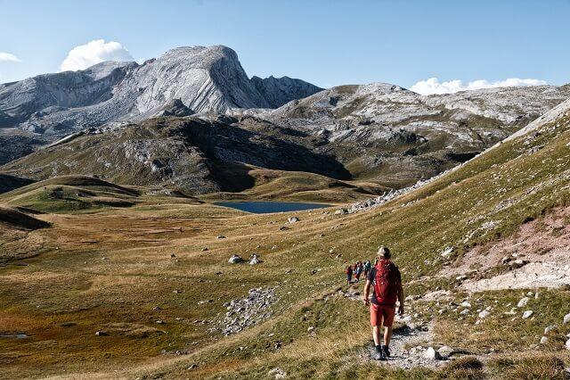 Alta Via 8 Tage wandern in den Dolomiten Alpen in Italien