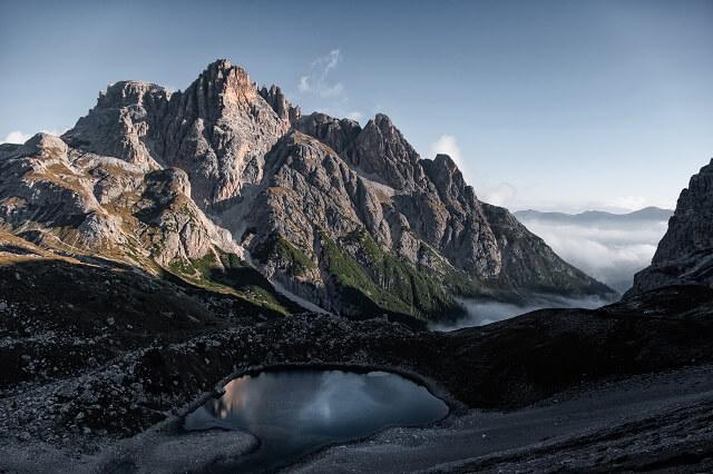 Alta Via Wanderung 8 Tage Outdoor Tour in Italien mit Salewa