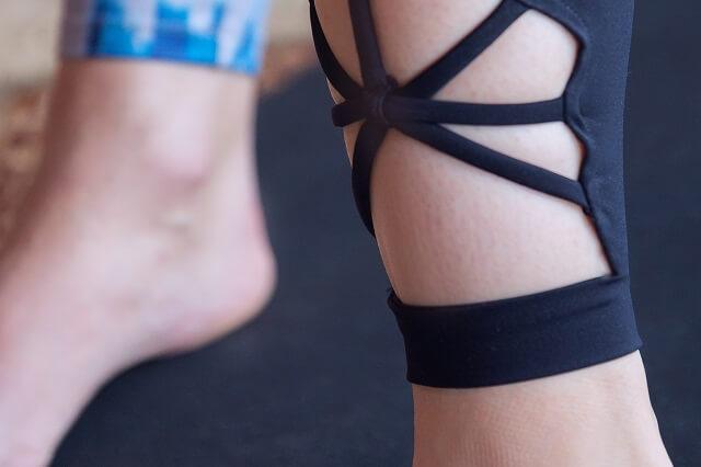 Mandala Yoga Kleidung Leggings mit Design Details aus Bio Baumwolle