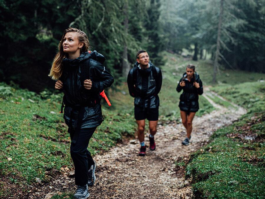 adidas TERREX Free Hiker GTX Wanderschuhe Mit Boost Sohle für leichtes Wandern
