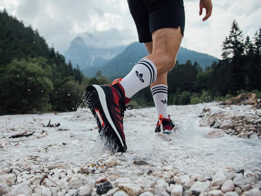 Der adidas Terrex Free Hiker im Test: Jetzt neu mit GTX