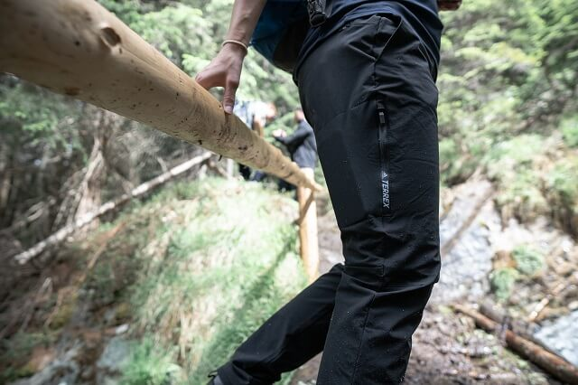 adidas Terrex AllSeasons Trekking Hose im Outdoor Test