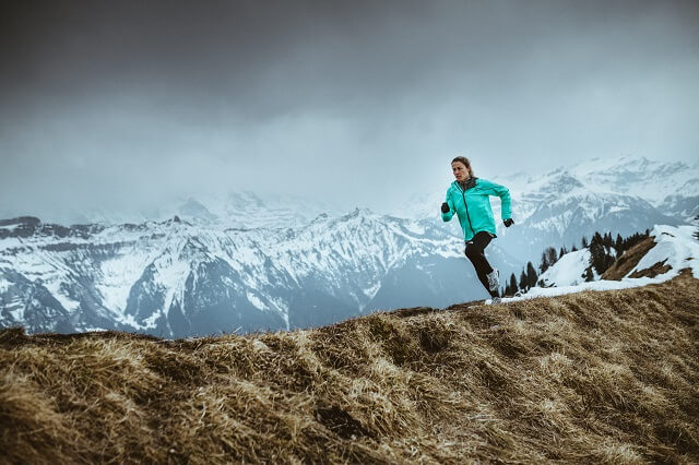 The North Face Futurelight Technologie bei der TNF Flight Series Trailrunning Jacke