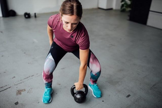 Under Armour RUSH Training Kollektion im Fitness Performance Test 2019 mit Keller Sports Pro Chrissy