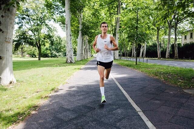 Valentin Pfeil läuft den Berlin Marathon 2019 im Keller Sports x Nike Marathon Team