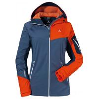 Schöffel Hdy Annapolis Damen Softshelljacke (dunkelblau orange) 199,90 €