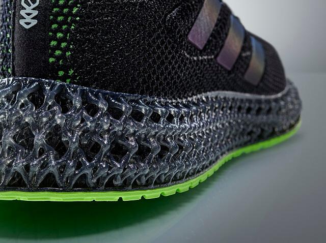 adidas 4D FWD Laufschuhe mit der Mittelsohle aus dem 3D Drucker