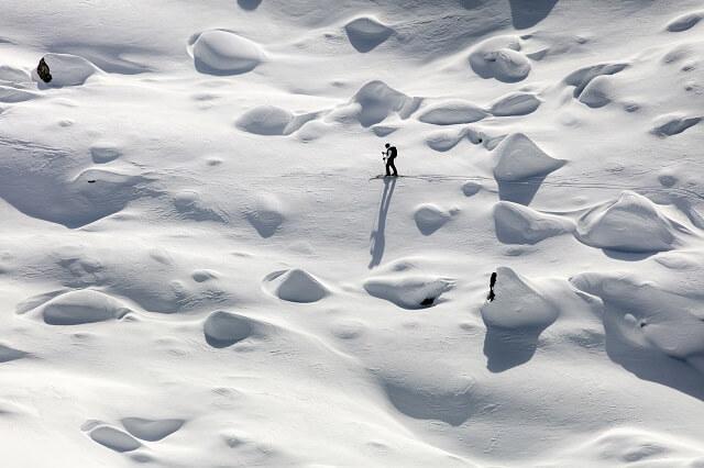 Der Dynafit Tlt 8 Skitourenschuh wiegt nur 1020 Gramm im Winter Test 2019 2020