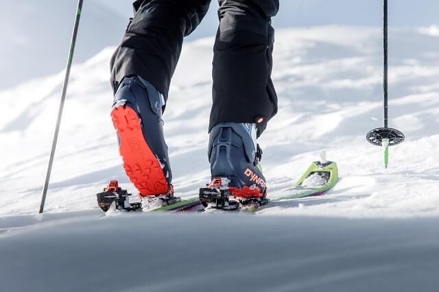 Dynafit Tlt 8 Skitourenschuhe im Test Winter 2019 2020 bei einer Skitour am Kitzsteinhorn