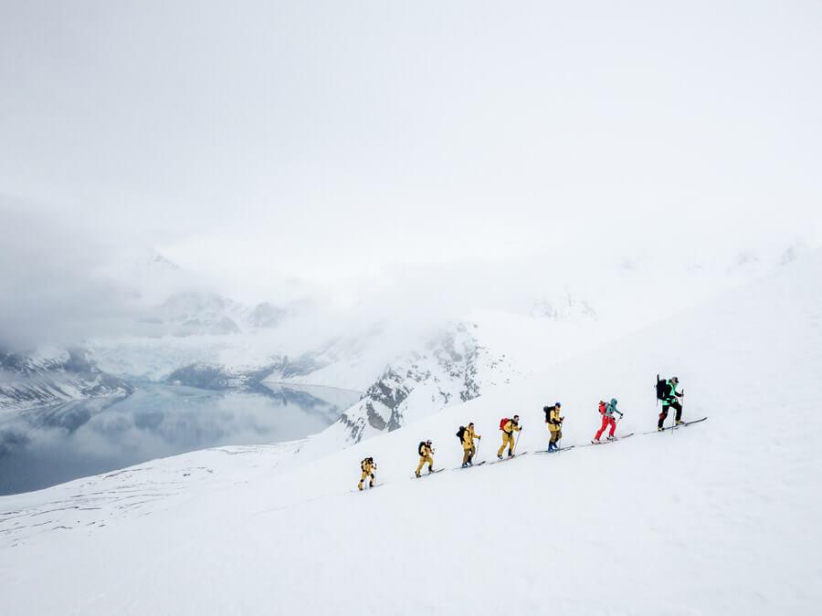 Mit Keller Sports und The North Face nach Spitzbergen