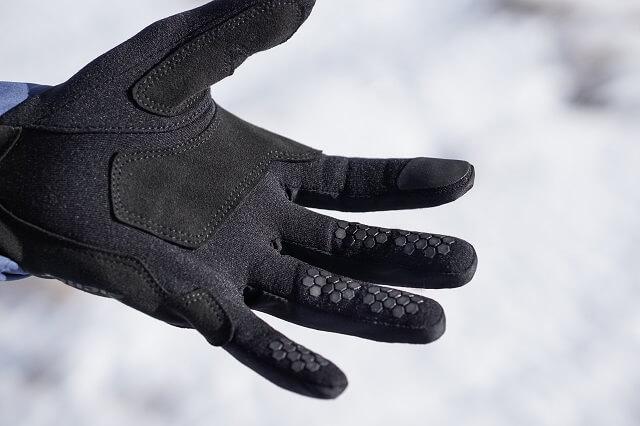 Ziener Gusty Touch Glove Mountaineering Handschuhe im Skitour Test Winter 2019 2020