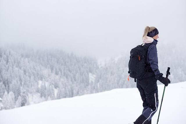 Ziener Namira Hardshellhose im Skitour Test Winter 2019 2020