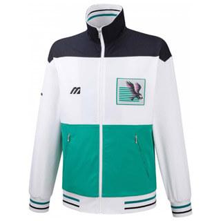 Mizuno Archive Herren Tennisjacke (weiß grün) 149,90 €