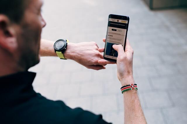Fitness Tracker und die Keller sMiles App helfen dich zu motivieren für deinen Sport