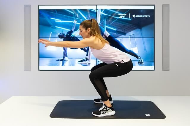 Functional Training Squat als funktionelle Übung für ein funktionelles Kraft Sport Training