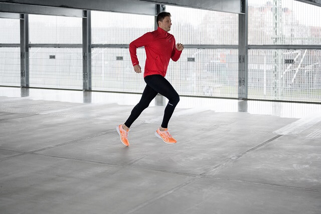 ASICS Novablast Laufschuhe im Running Test 2020