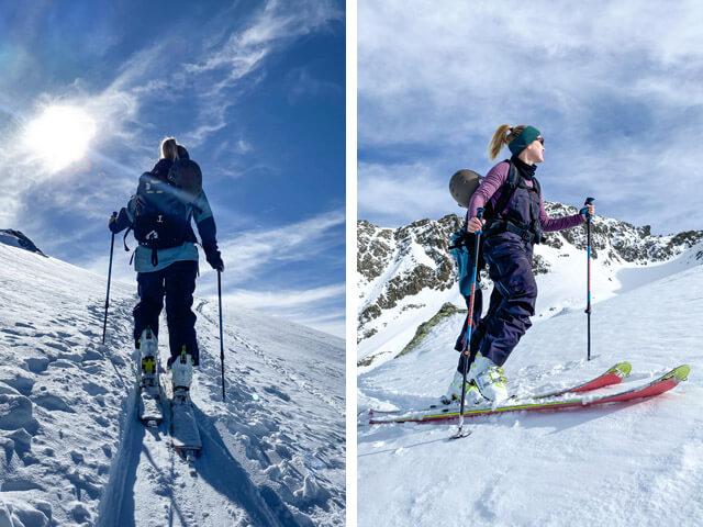 Scott Celeste und Cosmos Tourenskischuhe im Wintersport Ski Tour Test 2020