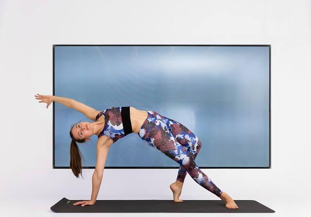Yoga und andere Workouts die man gut zuhause nachmachen kann, findet ihr im Keller Sports Guide