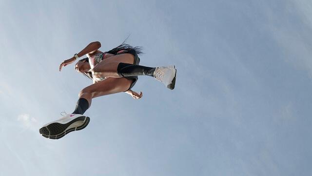 Das Zoom Air Kissen und der React Foam verleihen dem Nike Pegasus 37 eine starke Reaktivität und viel Komfort