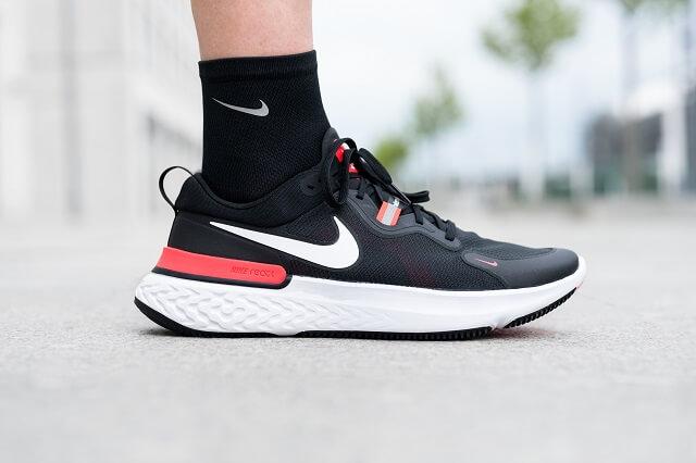 Die Nike React Miler Laufschuhe im Performance Running Test 2020 mit Keller Sports Pro Jan