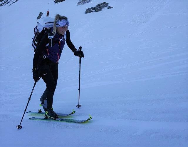 Mit Skitouren und Berg Touren den Glockner besteigen für das Gipfel Foto und die #salewa3000 Challenge