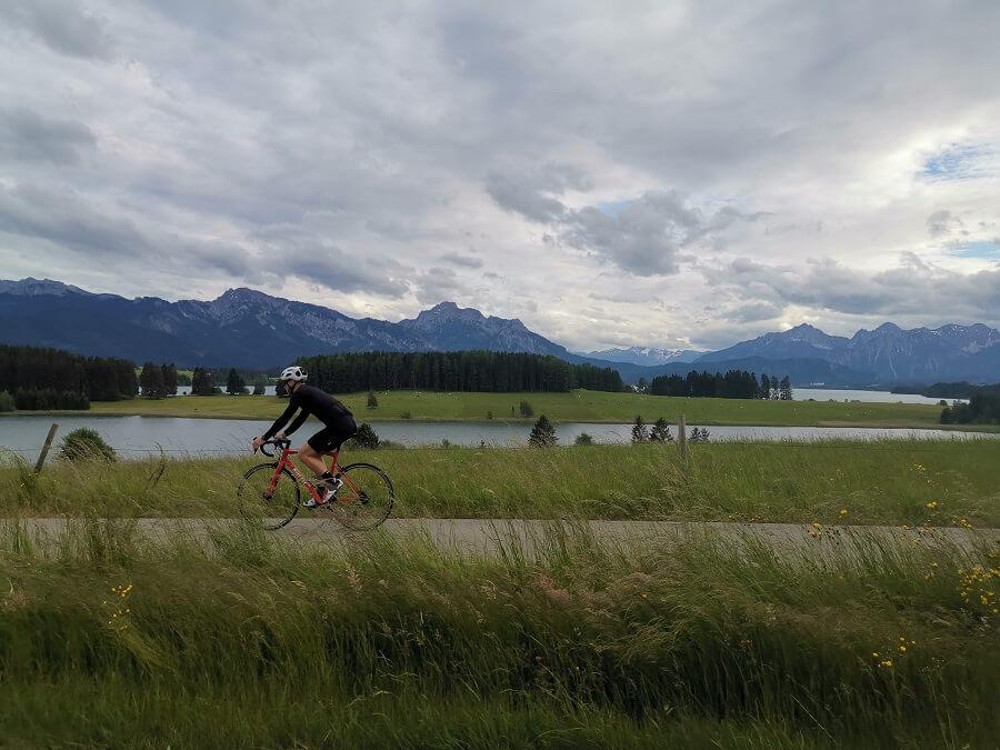 Urlaub auf dem Rennrad im Allgäu
