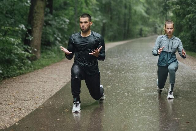 Anna Seidel und Max Weitzmann beim On Running Event in München