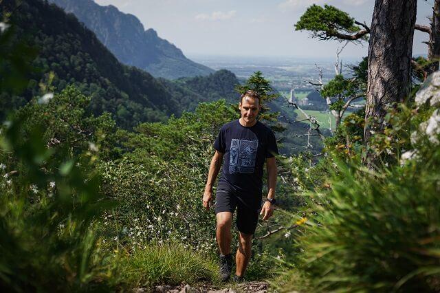 Bei einer Tour im Tennengebirge 2020 testet Keller Sports Pro Markus die Hanwag Banks Gore-Tex Wanderstiefel