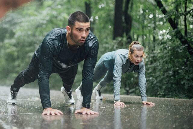 Das Workout von Maximilian Weitzmann und Anna Seidel zum Nachmachen