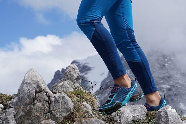 Die Dynafit Transalper Hybrid Hose im Produkt Test 2020 beim Bergsteigen und Trail Running