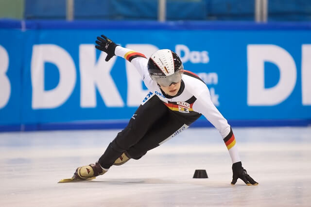 Die Shorttrackerin Anna Seidel
