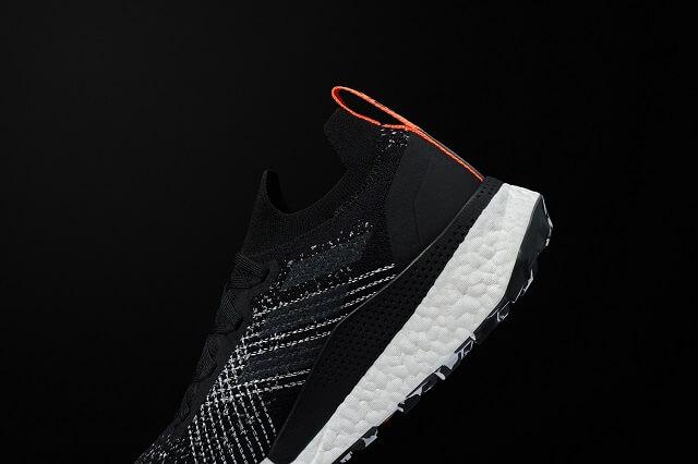 Der Schaft der adidas Terrex Two Ultra Parley Trailrunning Outdoor Schuhe liegt angenehm eng am Fuß an