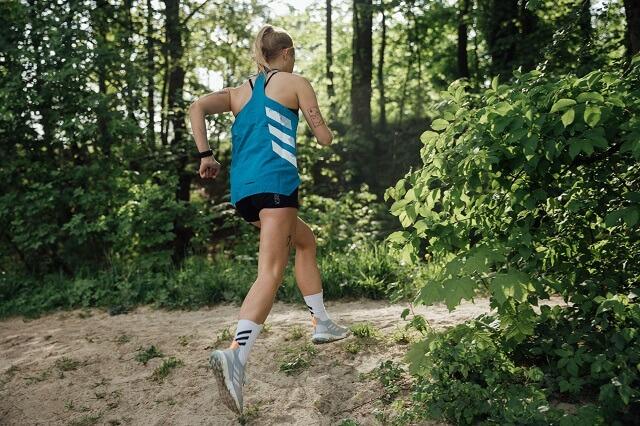 Die adidas Terrex Two Ultra Parley Outdoor Schuhe für Damen und Herren eignen sich perfekt zum Trailrunning