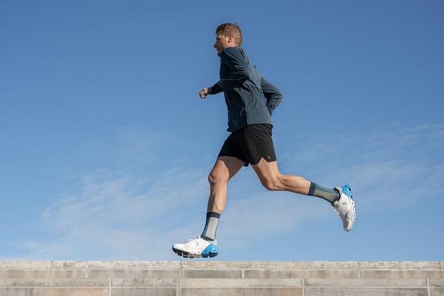 Keller Sports Pro Jan mit dem On Cloudflyer Running Schuh im Test 2020