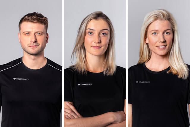 Keller Sports Pros Jan, Lisa und Lena