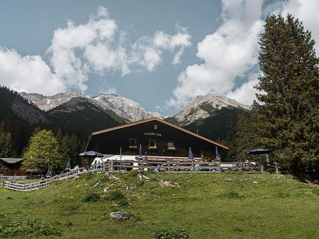 Tourentipp Wettersteinhütte Wangalm